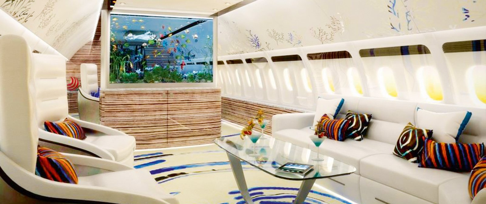 Luxury companies can help to make more adventurous interiors a reality. Image: Airjet Designs