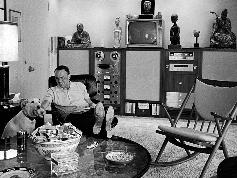 Frank Sinatra was one of many celebrities who owned homes in Palm Springs in the '50s and '60s. Photograph: Getty