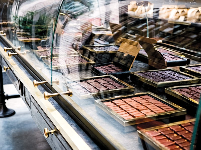 The chocolates and bonbons at Le Chocolat Alain Ducasse are handcrafted using only the purest cocoa. Chocolate-lovers should head to Rue de la Roquette to explore this heavenly artisanal chocolate factory