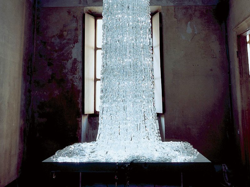 Vincent Van Duysen's Cascade, part of Swarovski's Crystal Palace initiative. Photograph: Alamy. Banner image: Michael Hedge