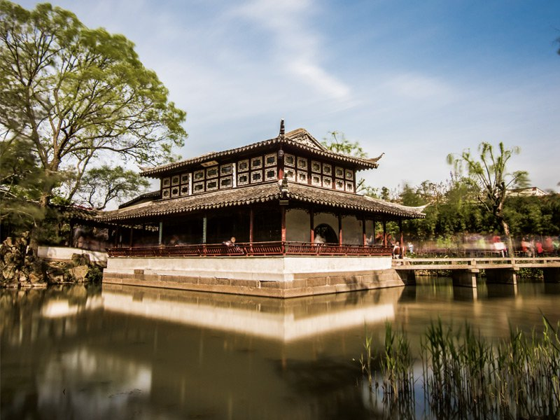 It is believed that the novel Dream Of The Red Chamber by Cao Xueqin was largely inspired by the garden where he lived during his teenage years. Photograph: Getty Images