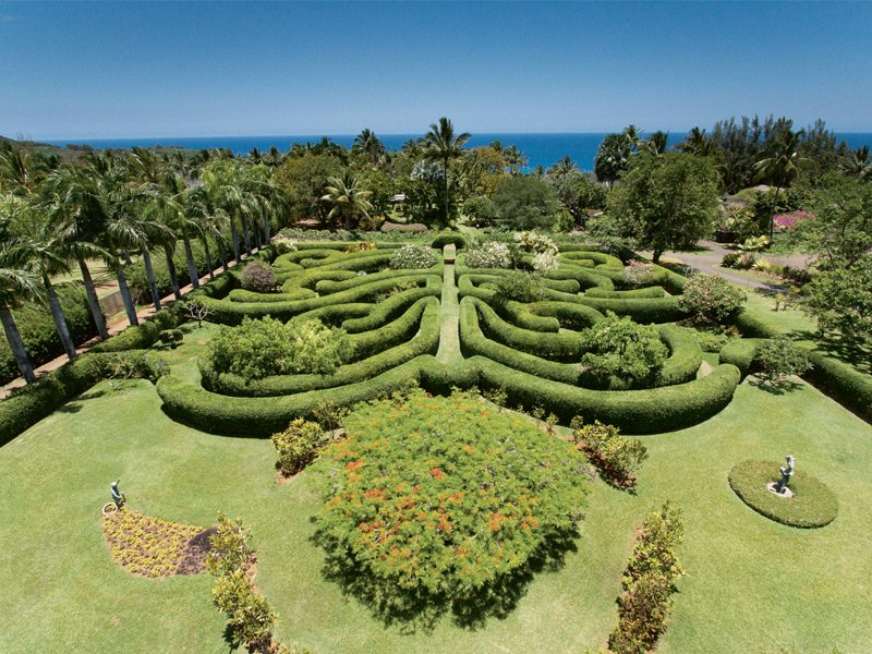 Once a month, Na'aina Kai botanical gardens opens its doors to families for a play day known as Keiki Day. Photograph: Tony LeHoven
