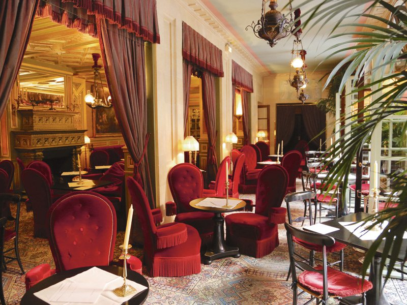 The Beckhams and Kylie Minogue are just some of the famous faces to frequent Hôtel Costes in Paris, which has become something of an institution on the celebrity/fashion circuit. Photograph: Slim Paley.com