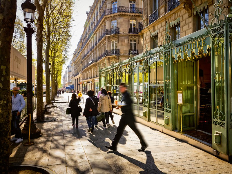 Set in the heart of Paris, Champs-Elysées is the most covetable area of the city right now with the most exclusive restaurants, hotels and shops all within walking distance. Photograph: Getty Images