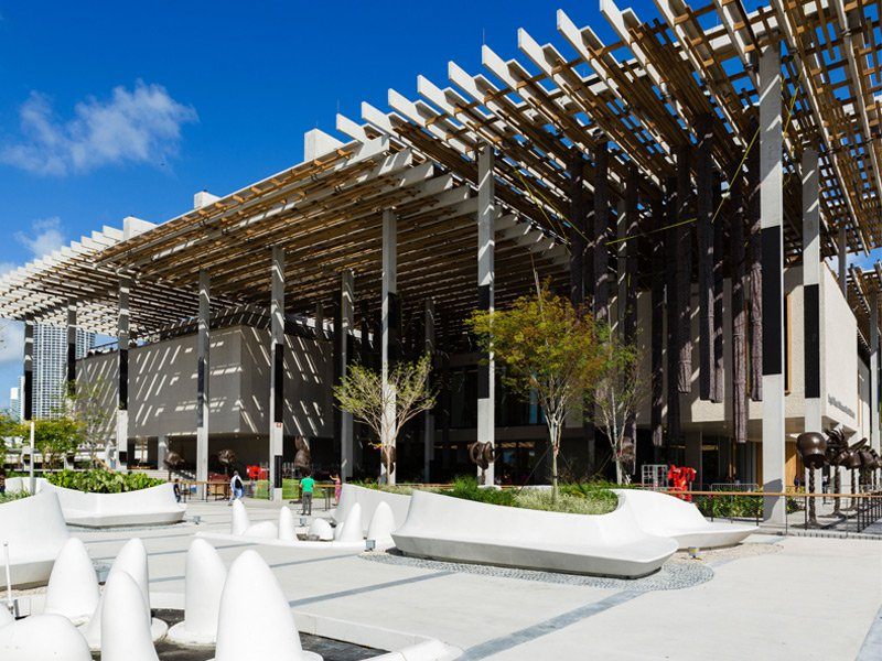 The Pérez Art Museum, which moved to Downtown in 2013. Photograph: Alamy