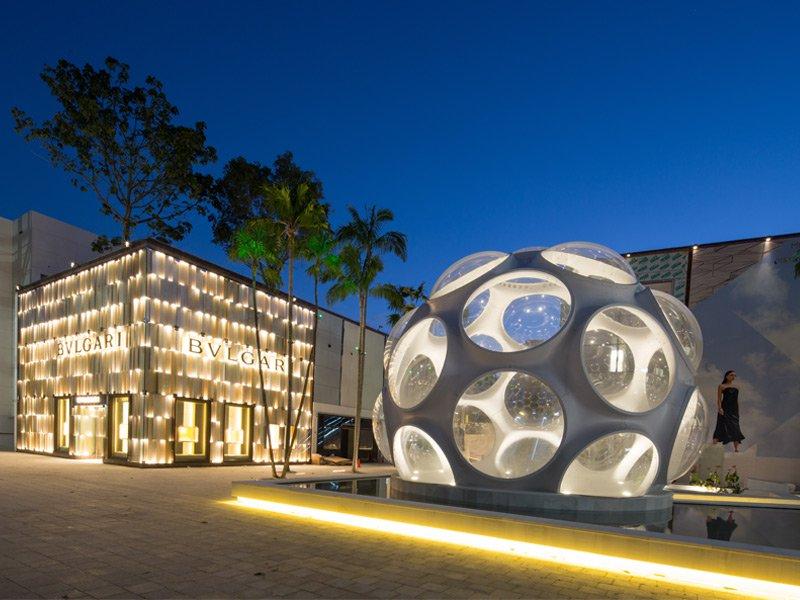 Miami Design District for DACRA. Photograph: Robin Hill