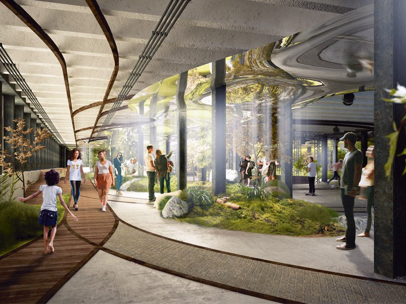 Ramsey designed The Lowline, the world's first underground park, on the site of New York's historic Lower East Side trolley terminal