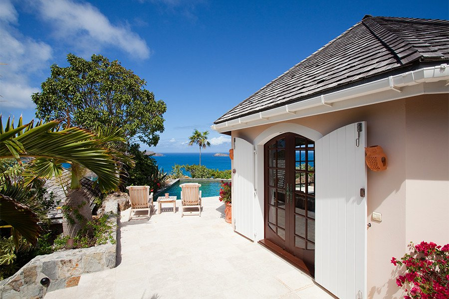 A verdant retreat in St. Barts blends tranquility with fun and adventure.