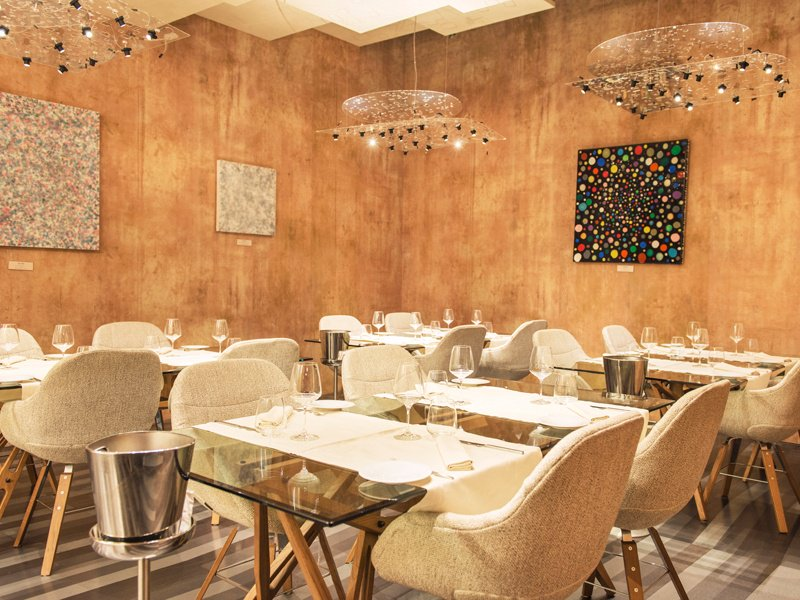 Larte perfectly blends art, fashion, and design with top-quality cuisine to create a truly memorable gastronomic experience.