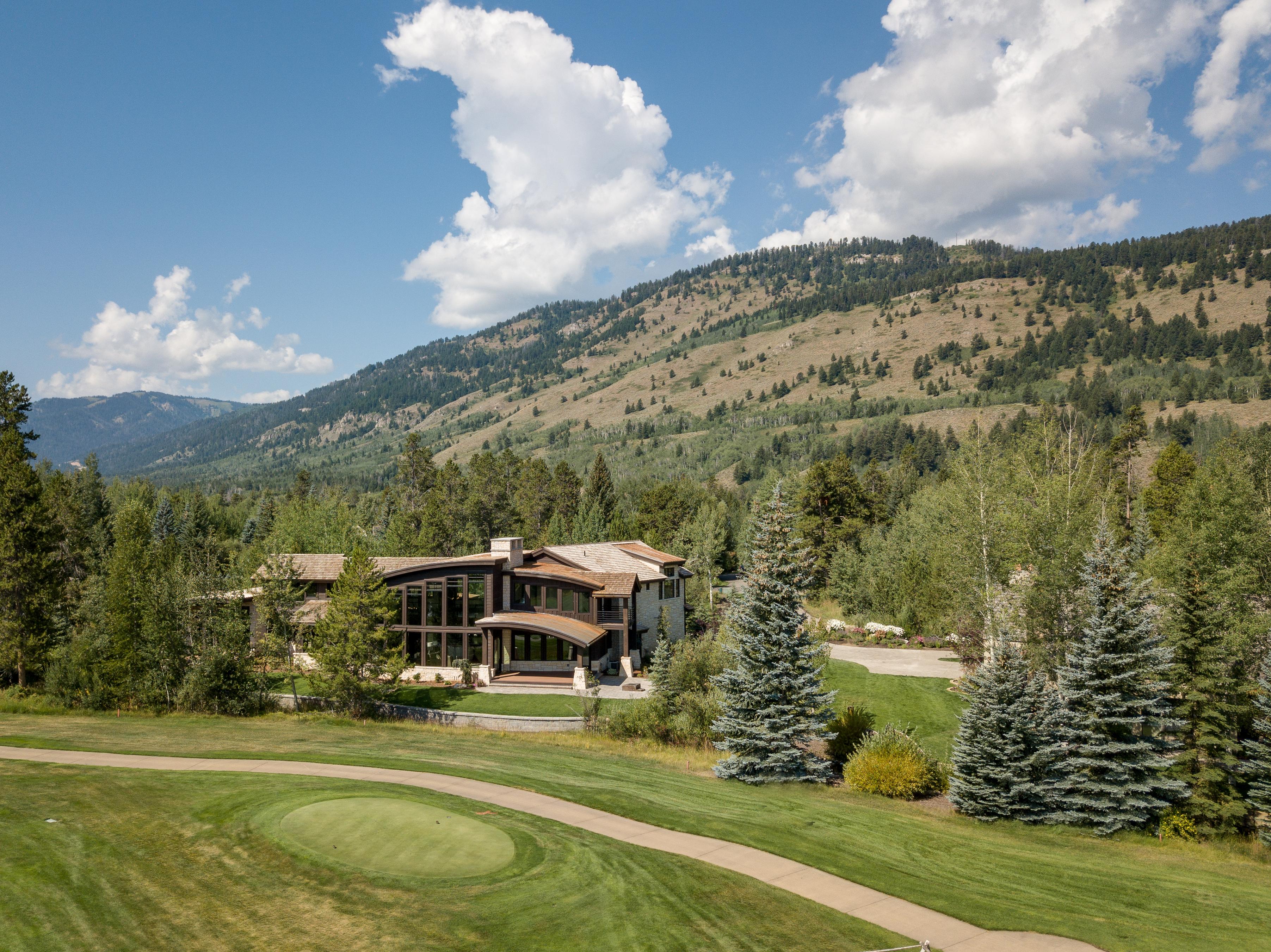 Modern mountain residence in Jackson Hole