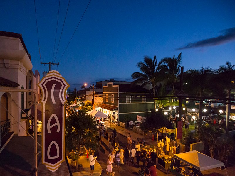 Opened in 1928 and renovated in 1995/6, Wailuku's Spanish mission-style Iao Theater is home to the Maui Onstage live theater group. Photograph: Hawaii Tourism Authority/Tor Johnson Photography