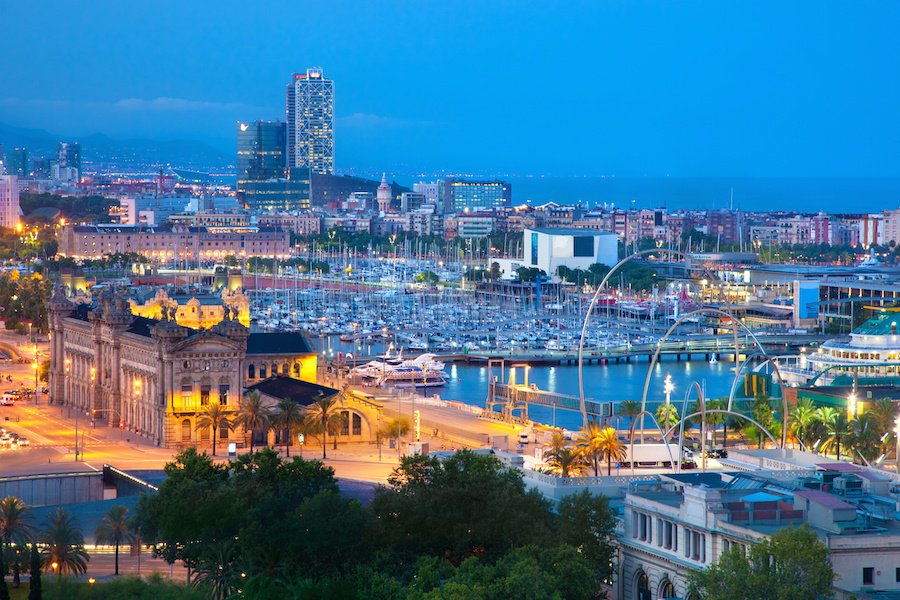 Beautiful Barcelona combines Mediterranean beaches, historic architecture, stunning public art, and grand city parks with breathtaking views.