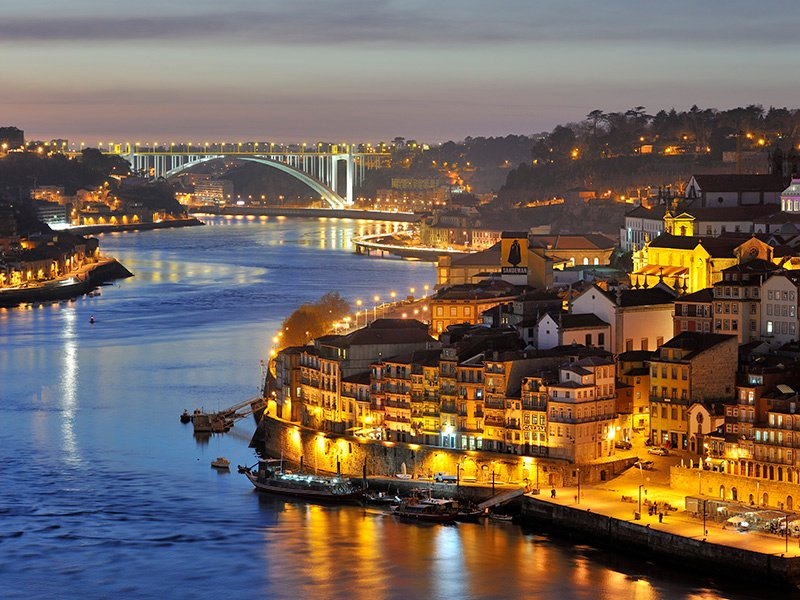 The historic center of Porto, a UNESCO World Heritage Site, includes the picturesque Ribeira district on the Douro River. Photograph: Getty Images