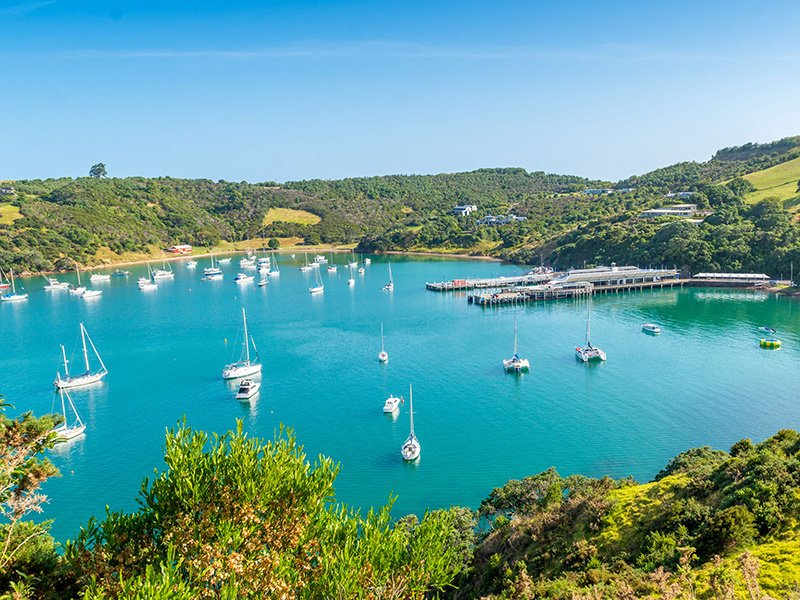 Beautiful Waiheke Island, with its pristine beaches and world-class vineyards, is just 40 minutes from Auckland City by ferry.