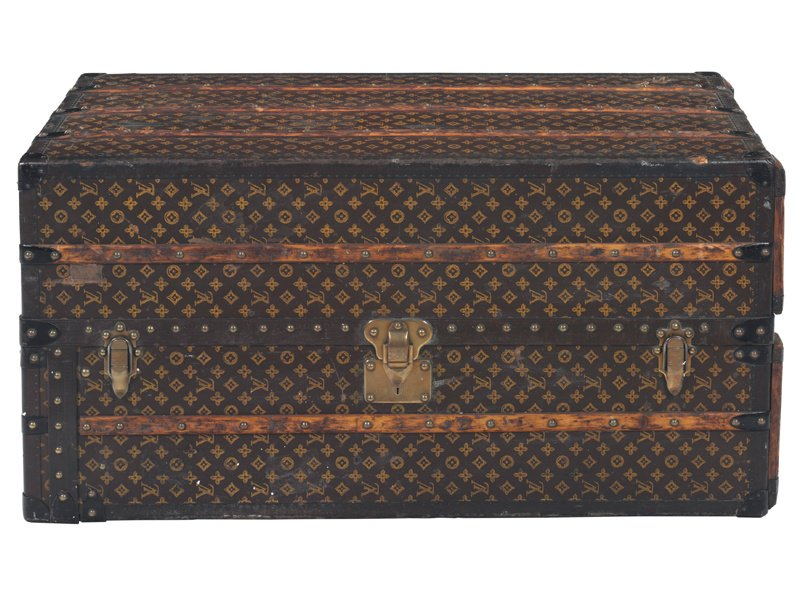 This Louis Vuitton monogram canvas wardrobe steamer trunk, c. 1935, sold at Christie's New York in September 2016 for $7,500 against a pre-sale estimate of $6,000-$8,000. Photograph: Christie's Images Ltd, 2017