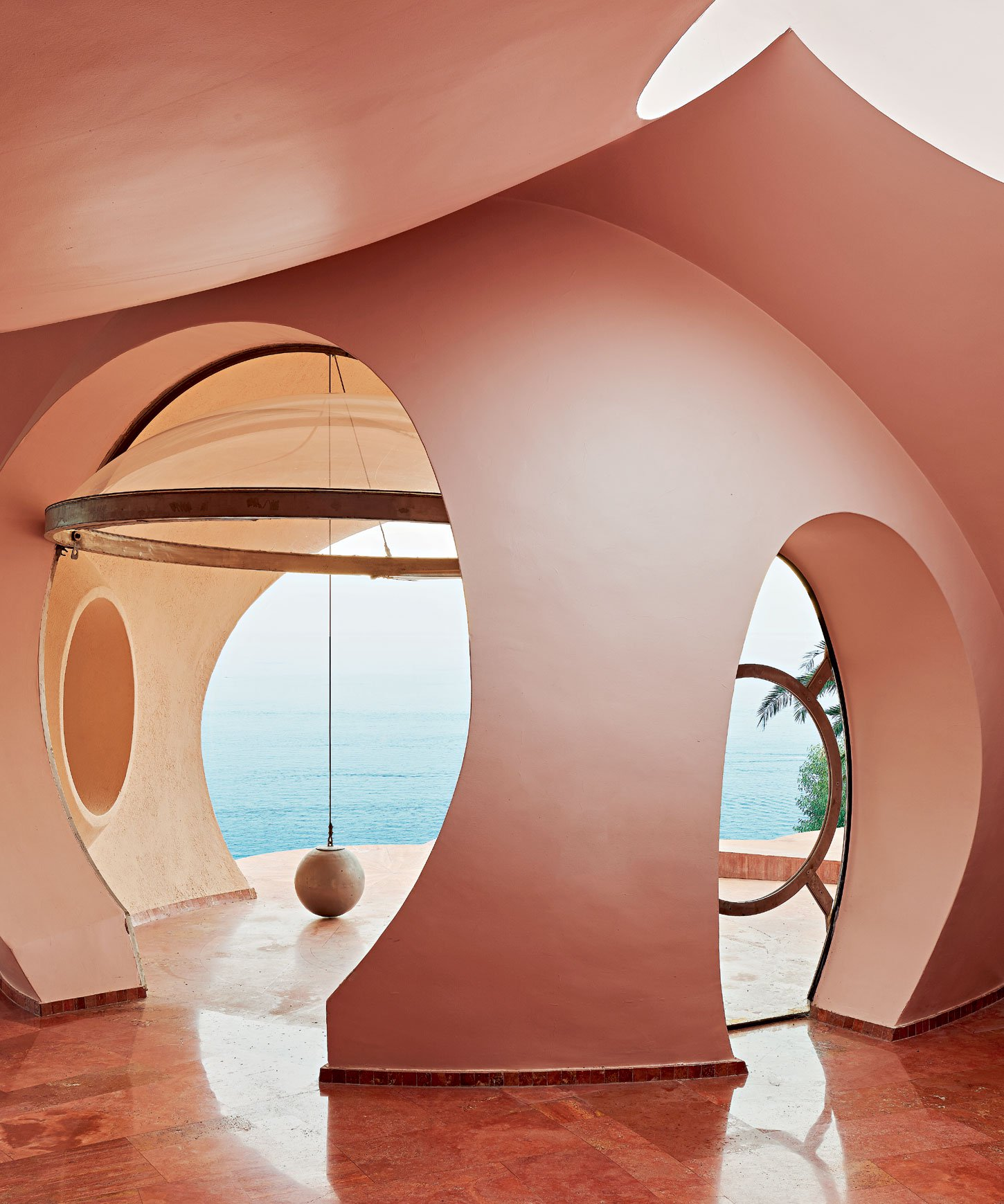 Take A Look Inside The Iconic Bubble Palace Christie S International Real Estate