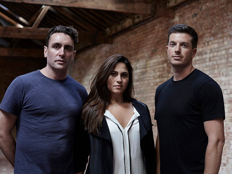 From left: BLOK owners Max Oppenheim and Reema and Ed Stanbury.