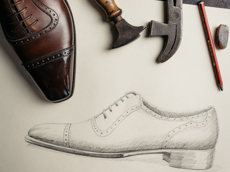 Combining handcrafting and manufacturing skills, Gaziano & Girling is at the top of both the bespoke and benchmade industries.  Photograph: Greg Funnell