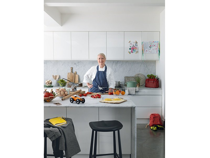 Private chef Lisa Markwell, photographed exclusively for Christie's International Real Estate magazine. Photography: Cristian Barnett. Styling: Katie Sellers