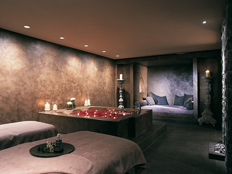 The private suite at the Palace Spa, where guests can enjoy a range of treatments using products from the exclusive Margy's Monte Carlo luxury beauty range.
