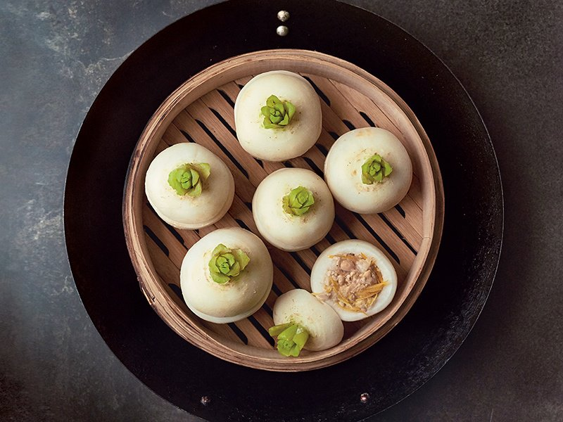 Miso-stuffed steamed turnips are among the recipes in Nancy Singleton Hachisu's Japan: The Cookbook.