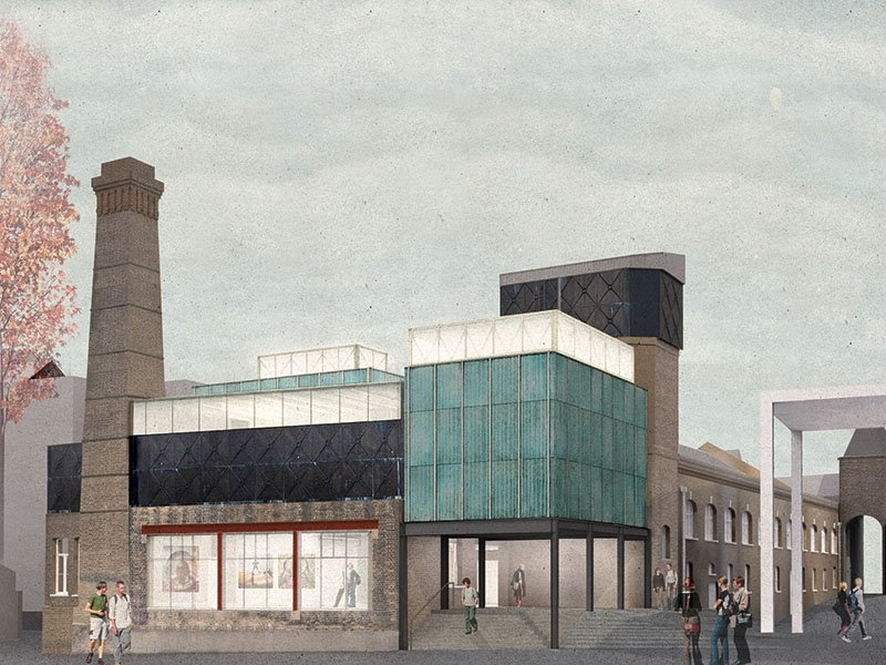 Assemble's vision for Goldsmiths' art space ensures that all forms of art can be represented within. Image: Goldsmiths CCA render created by Assemble