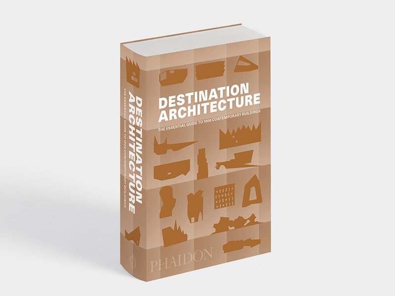 Destination Architecture, published by Phaidon, serves as an architectural travel guide for enthusiasts and curious beginners alike, and its small format makes it convenient for packing in a carry-on.