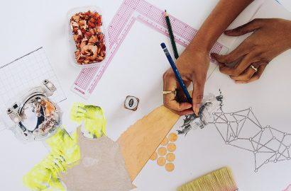 Simple Pleasures: Artist ruby onyinyechi amanze's Love of Paper