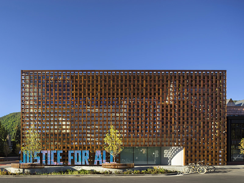 Aspen Art Museum Colorado Shigeru Ban architects