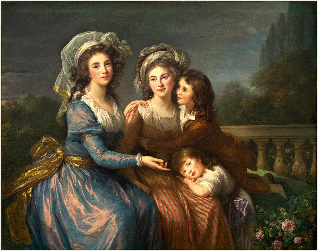 Élisabeth Vigée Le Brun portrait