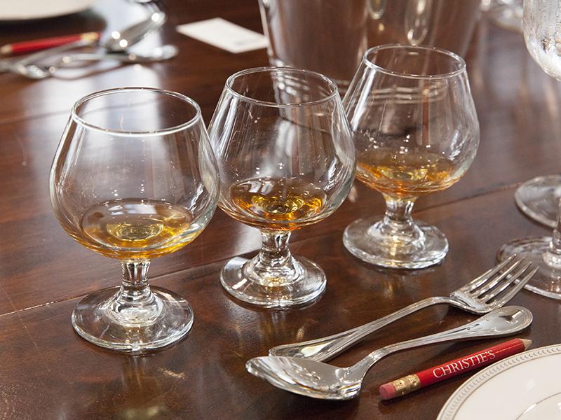 Three glasses of Madeira wine Christie's