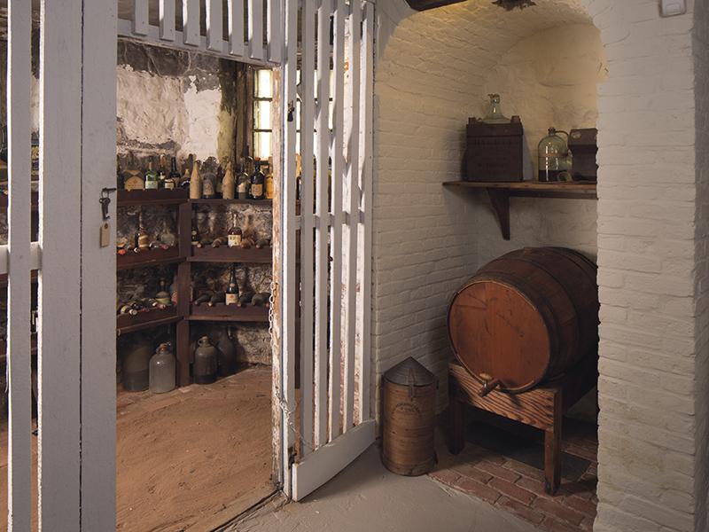 liberty hall museum new jersey wine cellar