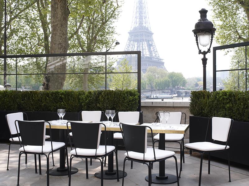 Monsieur Bleu Palais de Tokyo restaurant Paris