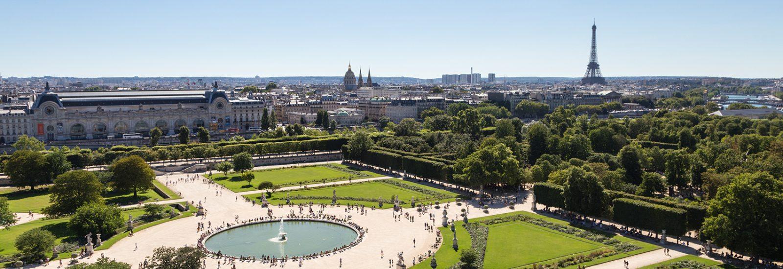 Tuileries Paris cityscape