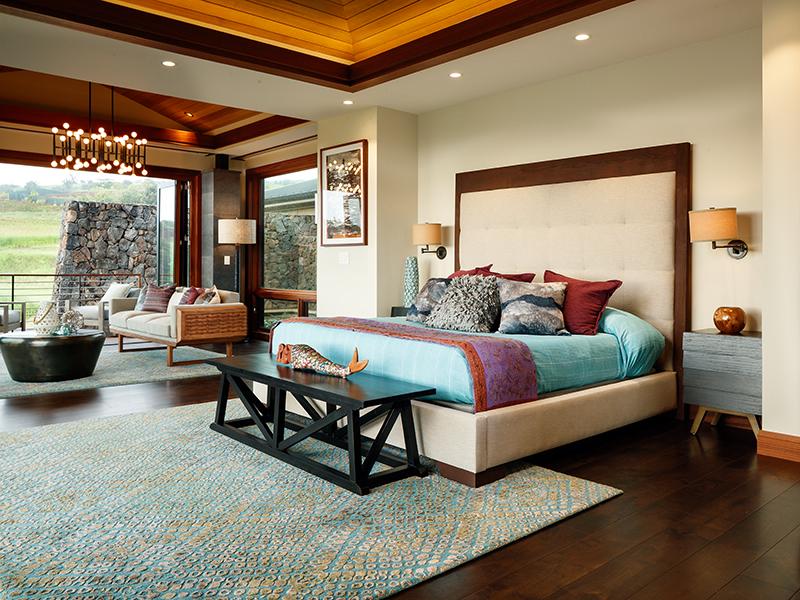 Kahalawai Street Kauai Hawaii bedroom
