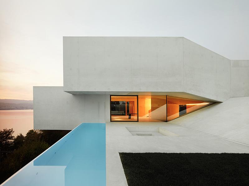 Daluz Gonzales Architecture Switzerland Lake Zurich