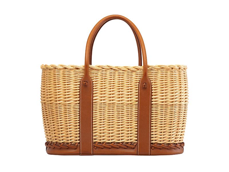 Hermès Osier Picnic Garden Party bag