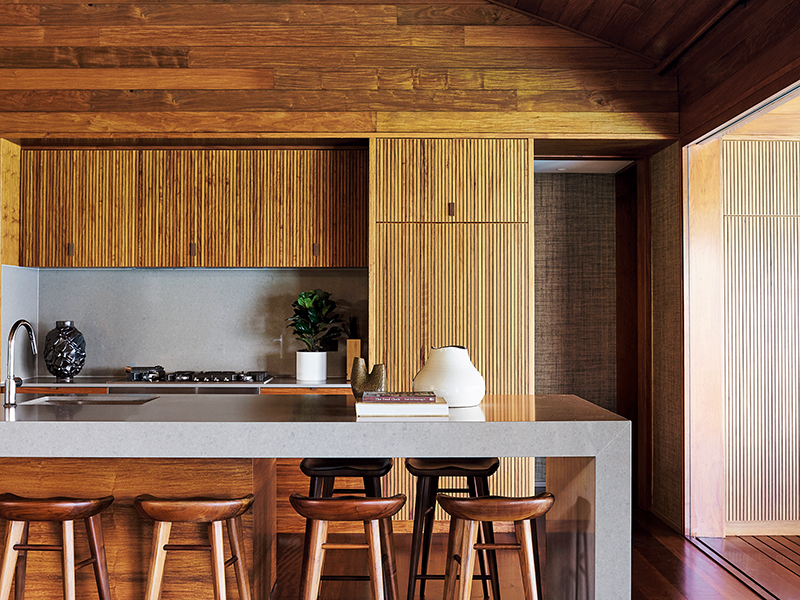 Kitchen in Hamilton Island home by Greg Natale