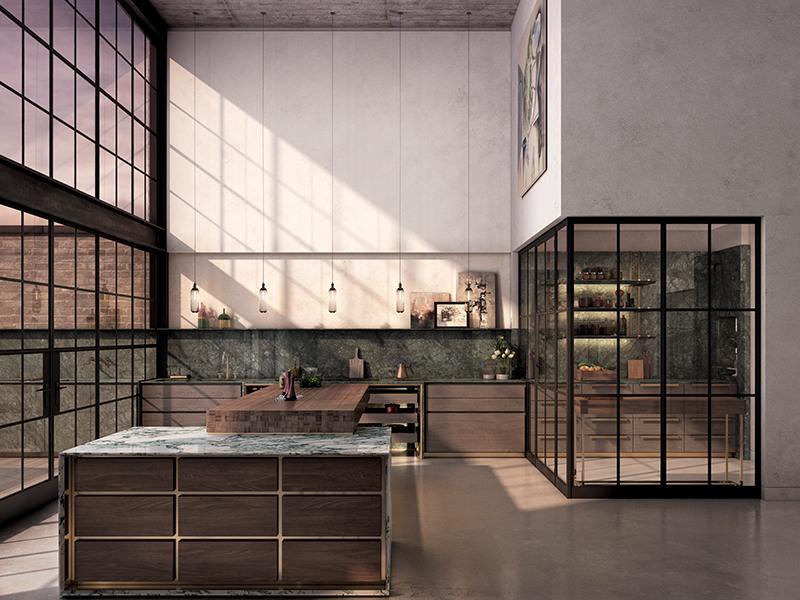 Delancey Collection kitchen by Lanserring