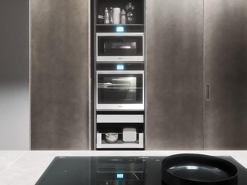 Moka kitchen by Pedini
