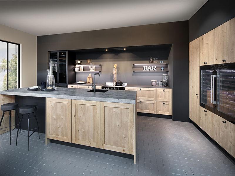 Ergo kitchen design by Rokpunkt