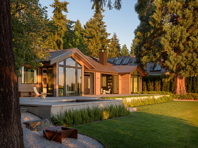 Olson Kundig forest home