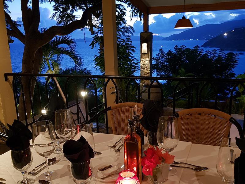 Brandywine restaurant Tortola