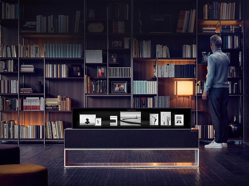 LG-TV-tech-home-man-library-home