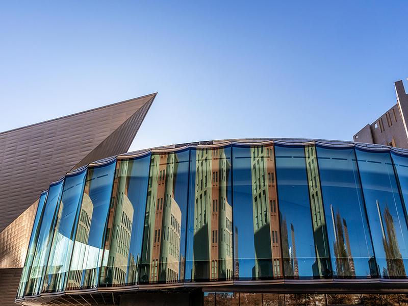 Denver Art Museum's newly renovated Martin building