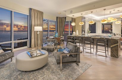 The High-Rise Life: Penthouses with Waterfront Views