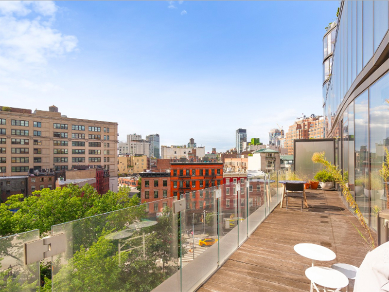 An eco-friendly apartment in New York's West Villlage