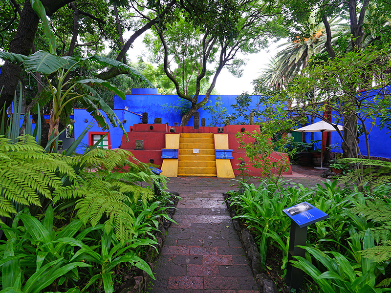 The colourful art museum dedicated to Mexican artist Frida Kahlo