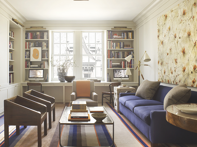 A home office on New York's 5th Avenue