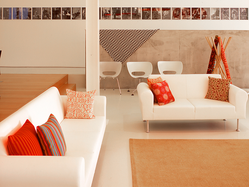 An office design for furniture brand Vitra